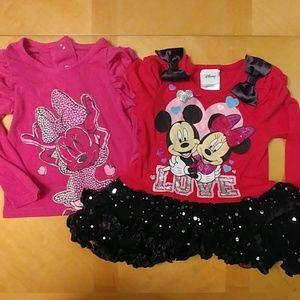 Disney long sleeve shirts